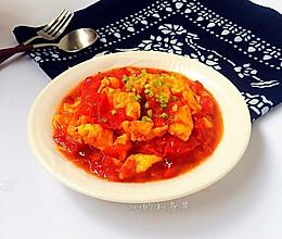 西红柿炒鸡蛋#我要上首页清爽家常菜#的做法