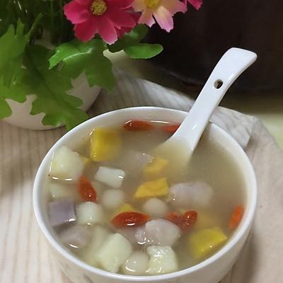 011冰糖三薯圆子汤