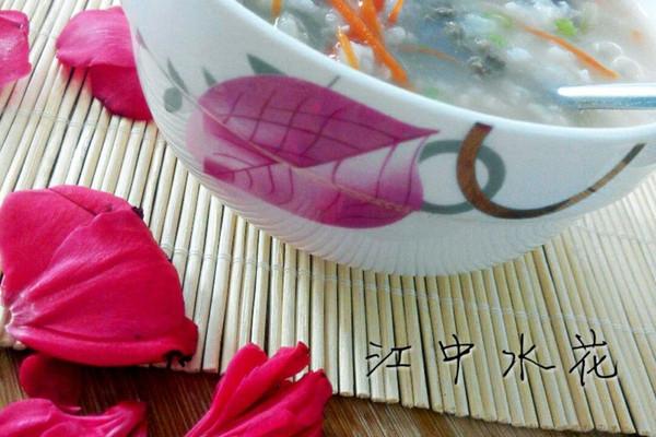 试用之牛肉菜心粥#大喜大牛肉粉#的做法