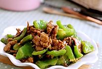 手掰青椒炒肉的做法