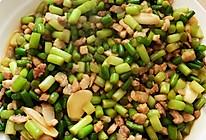 蒜苔炒肉末的做法