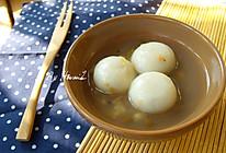 解暑祛湿,绿豆薏仁汤圆的做法