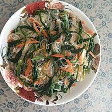 芥末菠菜粉丝