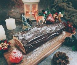 圣诞树桩蛋糕卷couss卡士烤箱750a试用反馈的做法