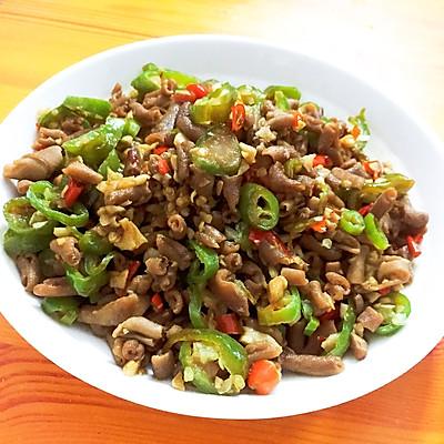 家常菜-尖椒鸭肠