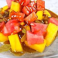 水果红糖冰粉的做法图解10