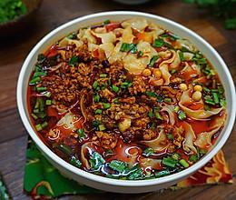 韭菜肉酱面------天凉好个秋的做法