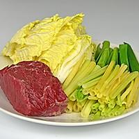 水煮牛肉#美的微波炉菜谱#的做法图解1