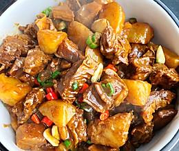 红烧驴肉炖土豆的做法