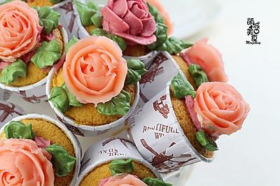 花束蛋糕#百吉福芝士力量#