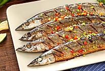 香煎秋刀鱼,在家也能做出的美味日料的做法
