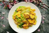 素食记~包菜粉丝炒鸡蛋的做法