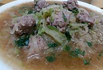 萝卜丝牛肉丸子汤的做法