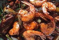 干锅虾➕鸡翅的做法