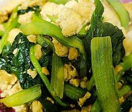 家常小炒-小白菜炒豆腐的做法