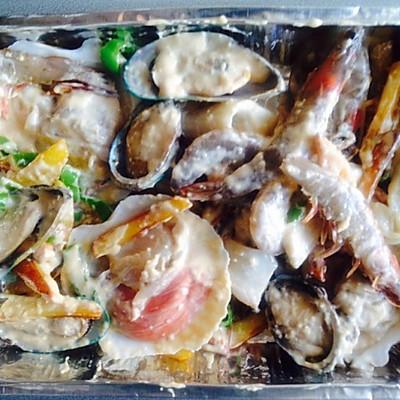 西班牙海鲜大拼盘—惊艳!的做法 步骤9