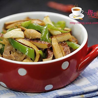 青椒鸡丝炒香干