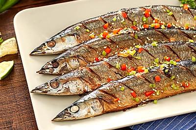 香煎秋刀鱼,在家也能做出的美味日料