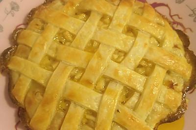 手抓饼苹果派