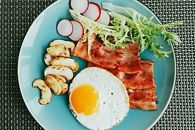 煎蛋培根-美味早餐首农宝宝蛋
