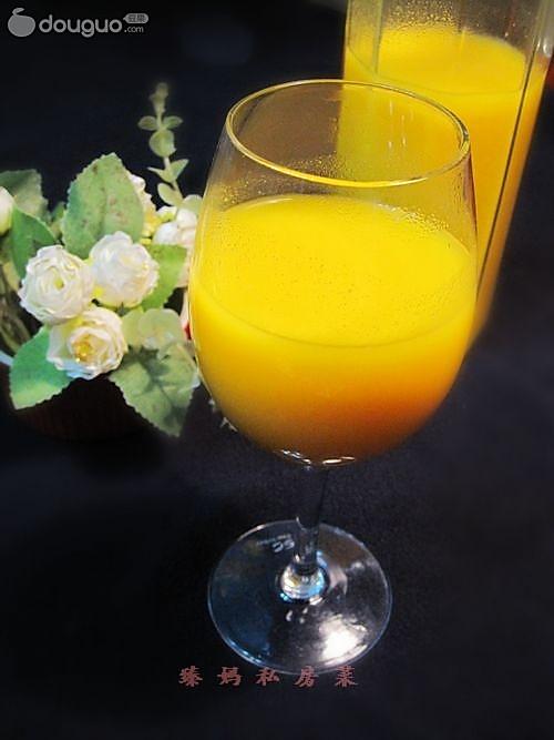 南瓜玉米汁的做法