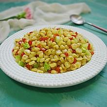 炒玉米——剩玉米的最美味吃法