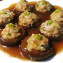 香菇酿肉#合理膳食 营养健康进家庭#