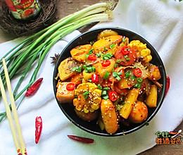 麻辣素干锅的做法