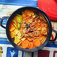韩式火锅好吃的秘诀——泡菜肥牛锅的做法图解11