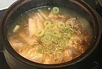 清炖牛肉萝卜汤的做法