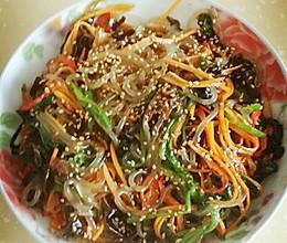 韩式拌杂菜的做法