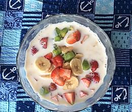 【早餐系列】水果燕麦粥<5分钟搞定的快手早餐>的做法