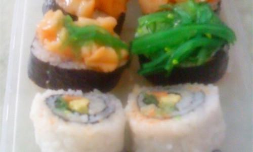 赞!教你做三种寿司~的做法