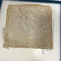 营养美味的芝士肉松三明治(含折纸法)的做法图解10
