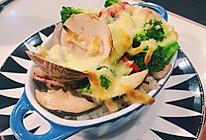 海鲜焗饭的做法