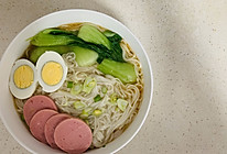 养胃的清汤面的做法