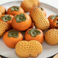 好柿花生月饼