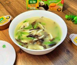 三丝鸡汤的做法