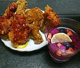 韩国炸鸡酱汁的做法