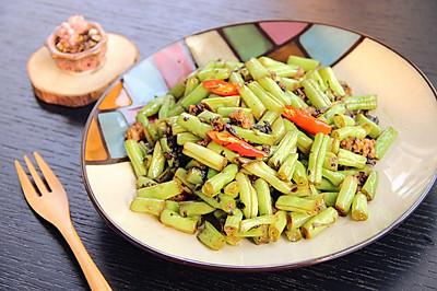 下饭菜之·榄菜肉末四季豆·