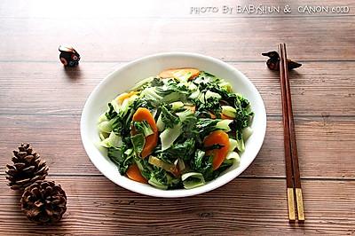 荤油炒青菜