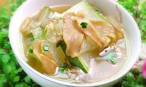 潮汕菜脯冬瓜汤的做法