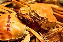 美味蒸河蟹的做法