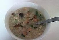 香肠菌菇粥的做法