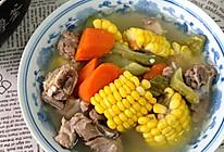 腔骨玉米胡萝卜汤的做法