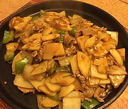 铁板土豆牛肉片的做法
