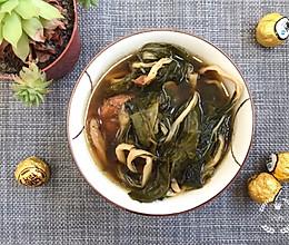 白菜干罗汉果煲猪骨汤-天气干燥,嗓子痒,咳嗽的做法