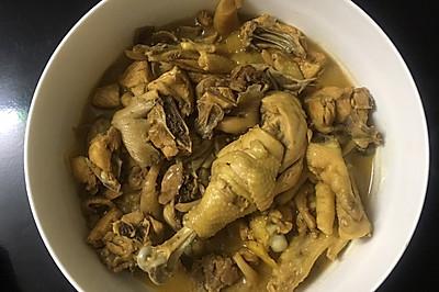 #一人一道拿手菜#蘑菇炖鸡肉