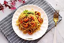小龙虾拌面#最爱盒马小龙虾#的做法