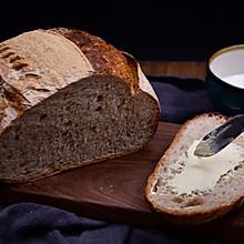 无油无糖黑麦乡村面包